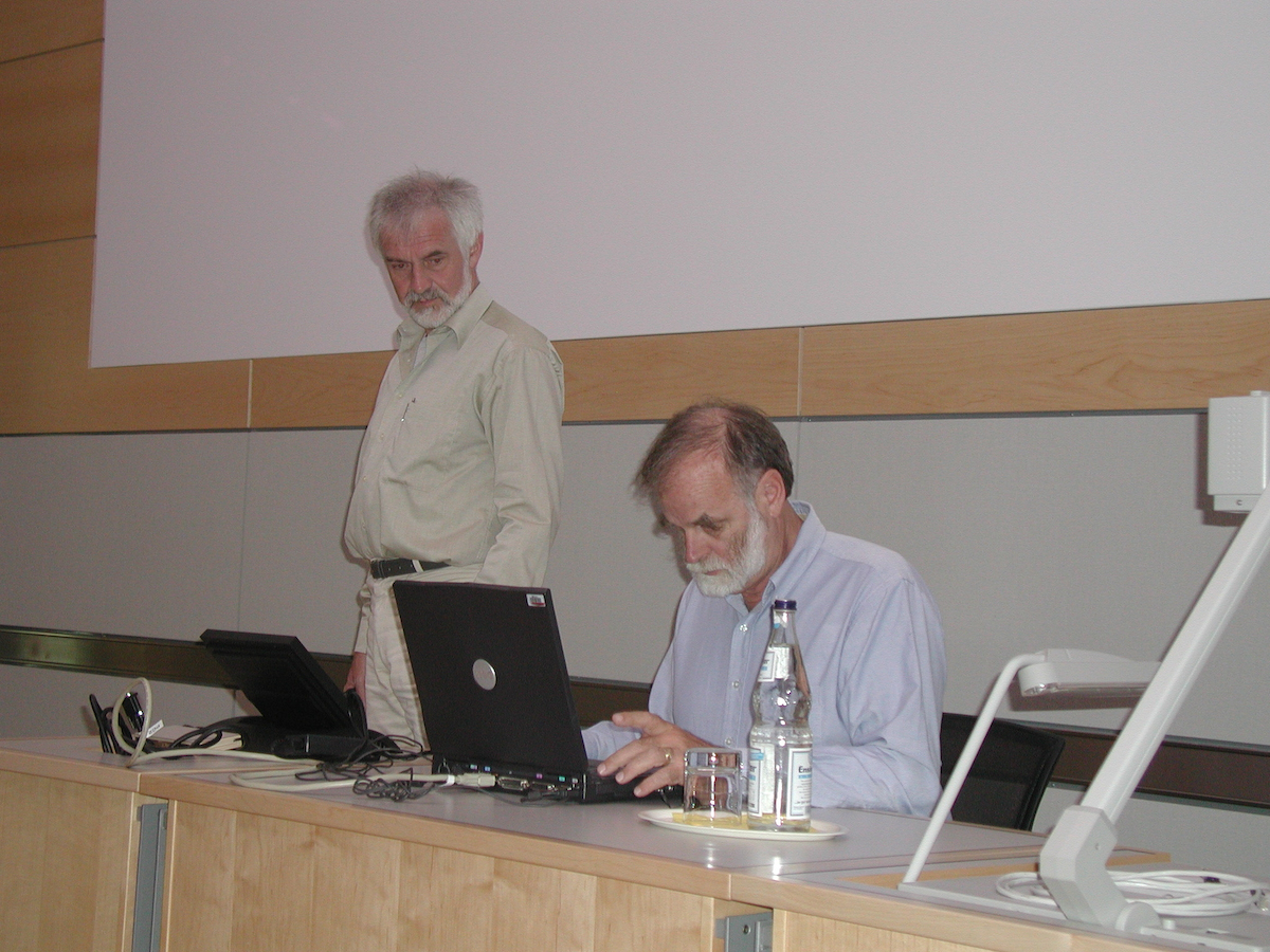 Andreas Reuter and Jim Gray